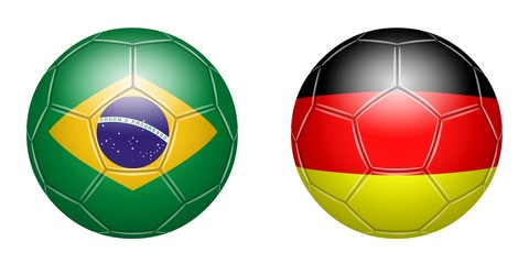 Football. Brazil - Germany