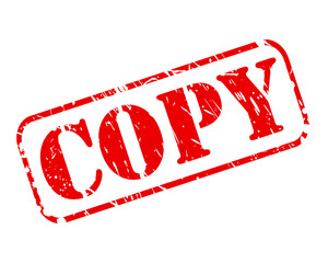 Copy red stamp text