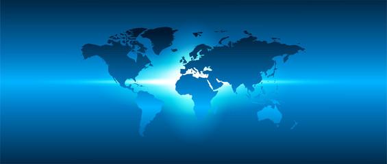 mondo, connessioni, mappa