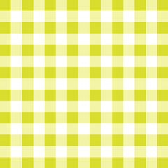 Yellow tablecloth vector