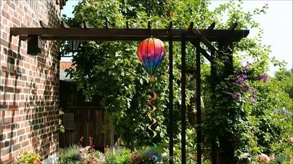 Windspiel Ballon Pergola