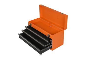 orange tool box