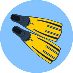 Vector Flippers for Diving
