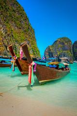 Boats of Phi-Phi Island
