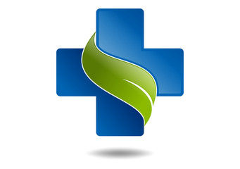 natural cross medicine logo