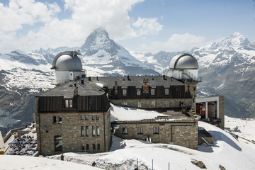 Kulmhotel auf Gornergrat ob Zermatt