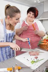 Dietassistentin: Ernährungsumstellung für Übergewichtige Frauen
