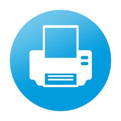 Etiqueta redonda impresora