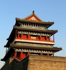 Zhengyangmen Gate (Qianmen).  Beijing, China
