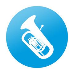 Etiqueta redonda tuba