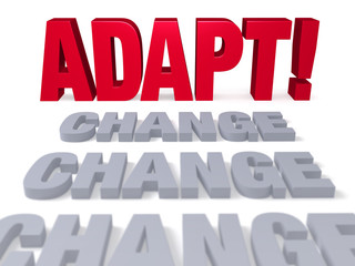 Adapt To Change