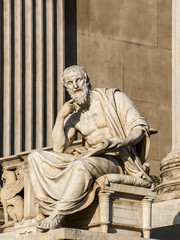 Herodot, Parlament, Wien