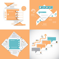 Four templates for your business presentation