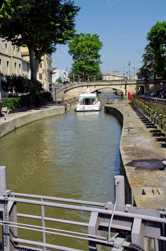 Foto Spatwand Kanaal canal du midi