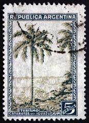 Postage stamp Argentina 1936 Iguacu Falls