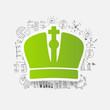 Drawing business formulas: crown