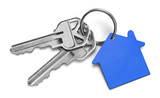 Blue House Keys