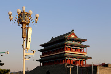 Zhengyangmen Gate (Qianmen)---Tiananmen Square in Beijing, China