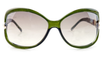 green sun glasses