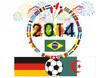 Fußballfest in Südamerika 2014 - Deutschland - Algerien