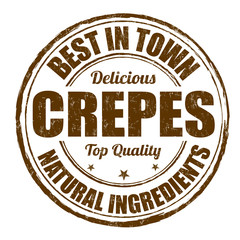 Best in town crepes stamp
