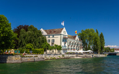 Dominicans Island in Konstanz, Germany