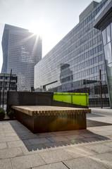 Modern Buildings in Paris. Business Concept