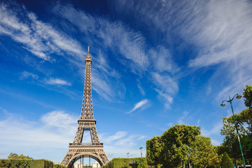 The Eiffel Tower, Paris. France