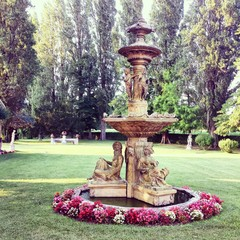 Parco con fontana