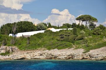 Paesaggio Isola di Paxos Grecia