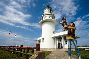 Sandiaojiao lighthouse, Taiwan