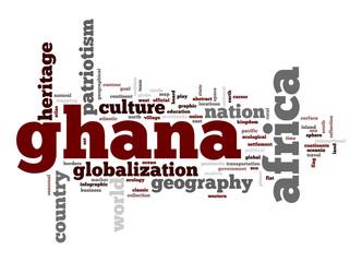 Ghana word cloud