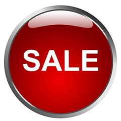 Perfect Glossy Sale Button