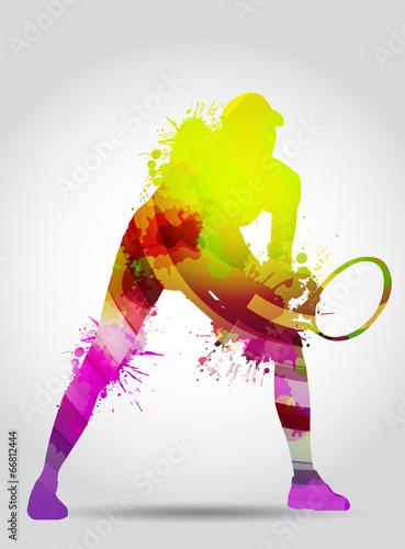 Fototapeta Tennis, competizione, torneo