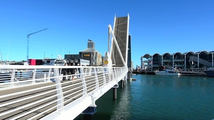 Wynyard Crossing in Auckland New Zealand