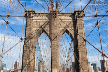Brooklyn bridge in new york - USA