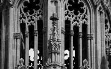 """Détail de l'église de """"San Juan Bautista"""" à Arucas à Gran Canaria"""
