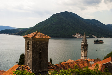 Bird's Eye View on the Bay of Kotor