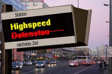 Anzeigetafel 5 - Highspeed