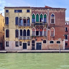 Haus frontal in Venedig