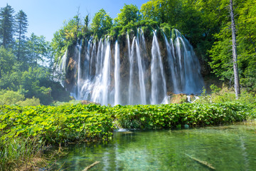 Galovac waterfall #1, Plitvicer Lakes NP,  Croatia
