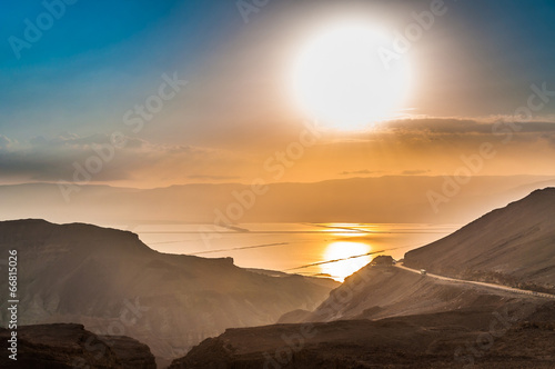 Landscape with Dead Sea. - 66815026