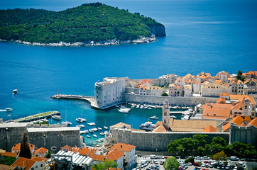 Dubrovnik. top view