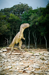 Dinosaur National Park in Grand Island Brijuni, Croatia