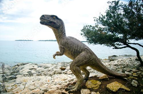 Poster Dinosaur National Park in Grand Island Brijuni, Croatia