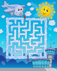 Maze 2 with airplane
