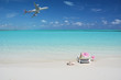 Beach scene, Great Exuma, Bahamas