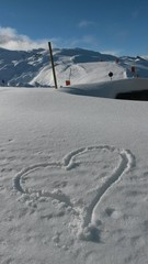 Herz Schnee