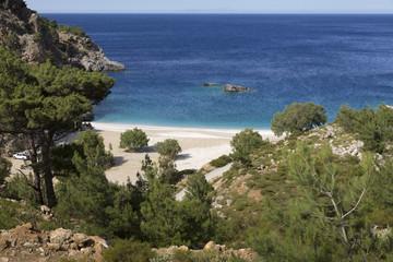 Strand auf der Insel Karpathos, Griechenland