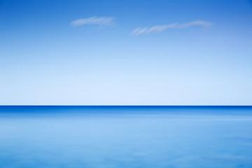 Langzeitbelichtung am Mittelmeer, Griechenland